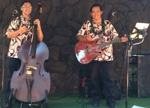 Photo: Enjoying great music with the hula stylings of Iolani...